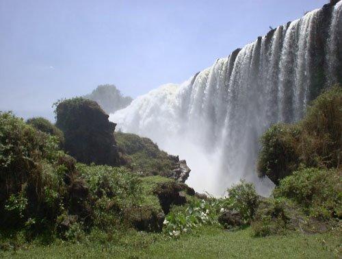 The Blue Nile Fall...